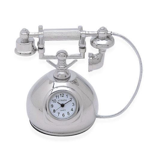 Telephone Table Clock