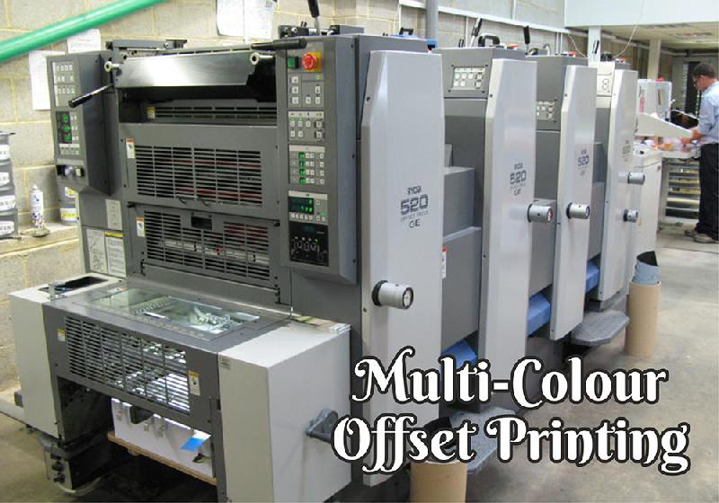 Multicolour Offset Printing Services