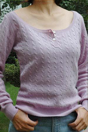 Ladies Pashmina Sweater (KCPSW005)