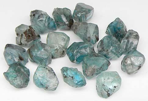 Raw Zircon Stones