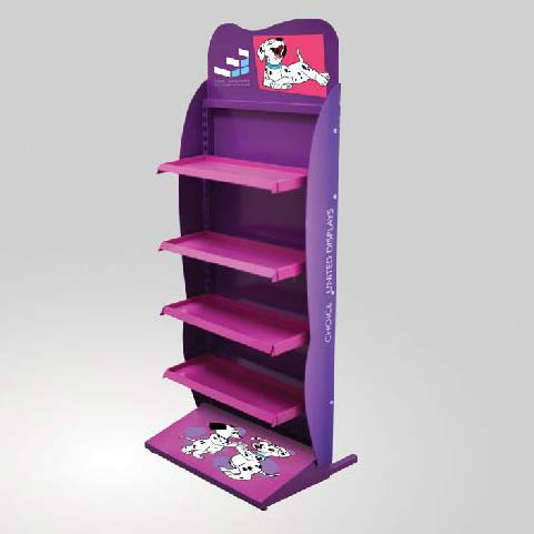 Floor Display Stand 01