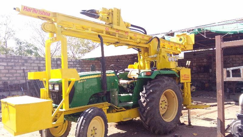 Tractor Mounted DTH Rig 08