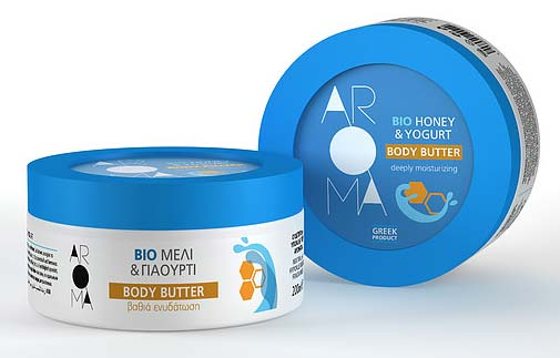 Aroma Honey & Yogurt Body Butter Cream