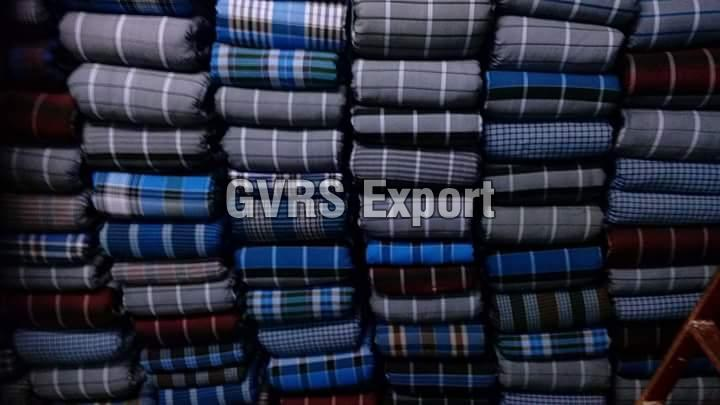 Cotton Checked Lungi