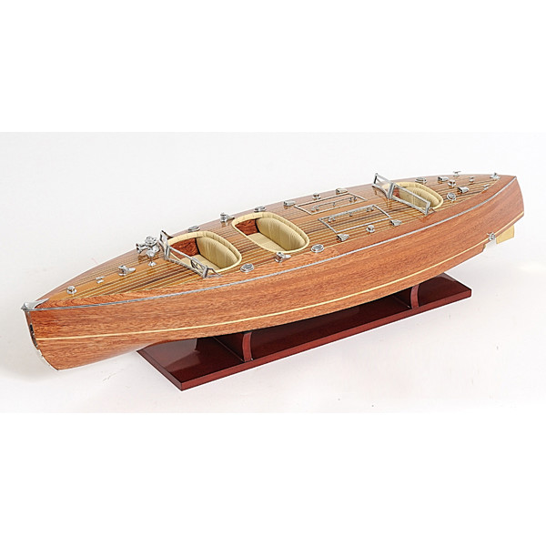 Typhoon Wooden Model Boat