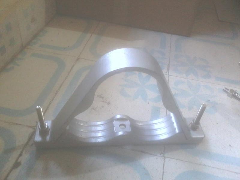 Aluminium Trefoil Clamp 01
