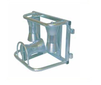 Triple Corner Cable Rollers