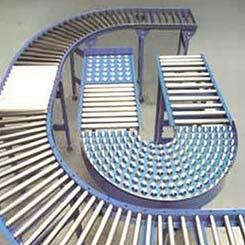 Industrial Roller Conveyor System
