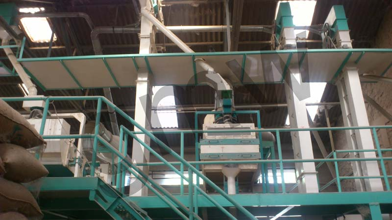 Wheat Cleaning Plant