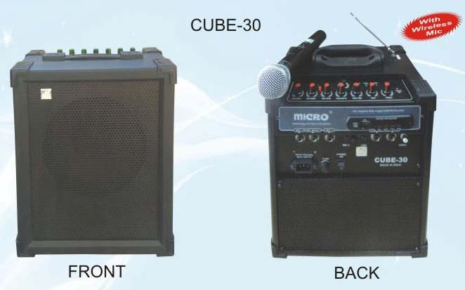 Cube 30 With Wireless Mic