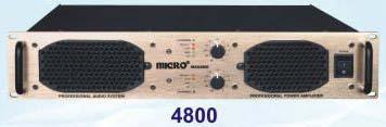 Max Series Amplifier (4800)