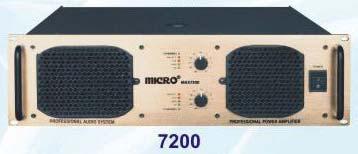 Max Series Amplifier (7200)