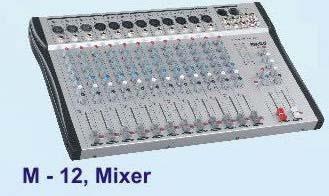 Professional Audio Mixer (M-12)