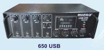 SSB Series Amplifier (650 USB)