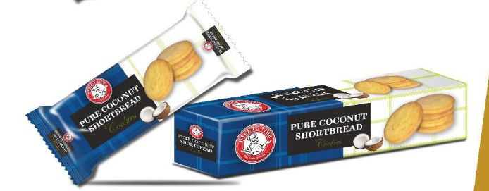 Pure Coconut Shortbread Cookies 02