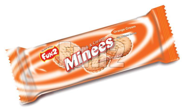 Minees Orange Biscuits (35GM)
