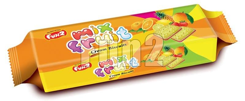 Mix Fruits Cream Biscuits (90GM)
