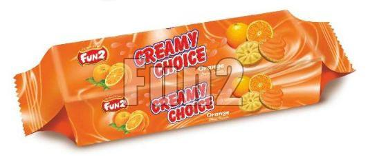 Orange Creamy Choice Biscuits