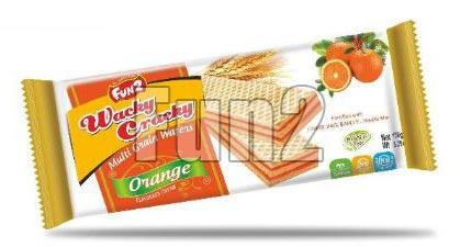Orange Wacky Cracky Wafers