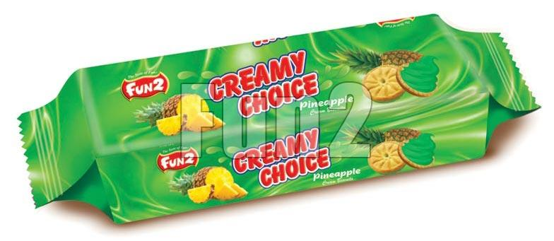 Pineapple Cream Biscuits (180GM)