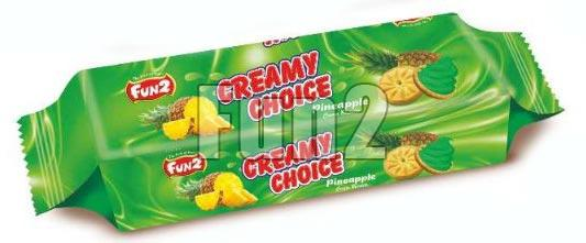 Pineapple Creamy Choice Biscuits