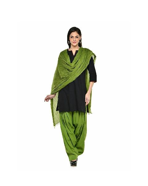 Semi Patiala Salwar With Dupatta