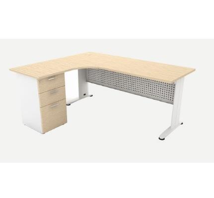 l shaped office table manufacturer exporter supplier in delhi india