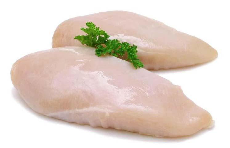 Frozen Skinless Chicken Breast