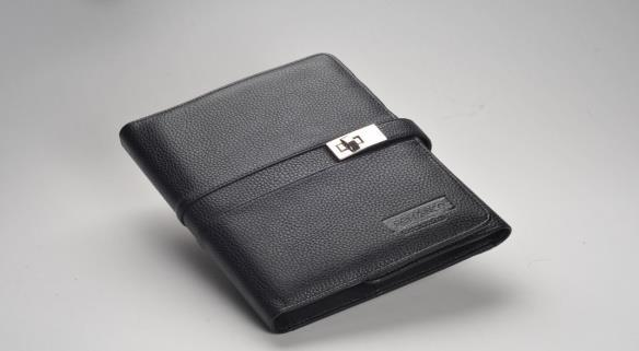 Business Organizer With Metal Lock