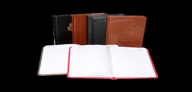 X802 B Executive Polypropylene Cover Diary