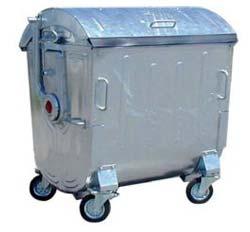 Metal Garbage Bin (1100 Ltr)