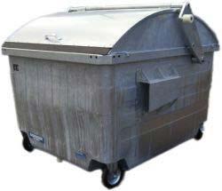 Metal Garbage Bin (2.5 cbm)