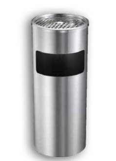Stainless Steel Ashtray Garbage Bin