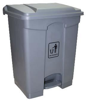 Plastic Step On Garbage Bin (68 Ltr)