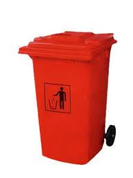 2 Wheeled Garbage Bin (100 Ltr)