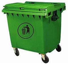 4 Wheeled Garbage Bin (660 Ltr)