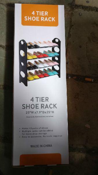 4 Tier Shoe Racks