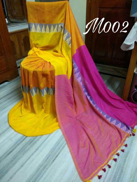 Madhyamoni Khadi Cotton Sarees