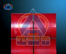 Aluminium Curved Panel (CMD-SC006)