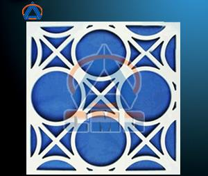 Aluminium CNC Cutting Hollow Panel (CMD-CH005)