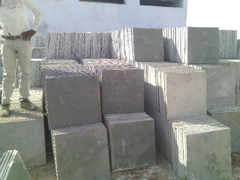 Semi Polished Kota Stone