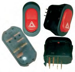 Peco 0058/08 Hazard Switches