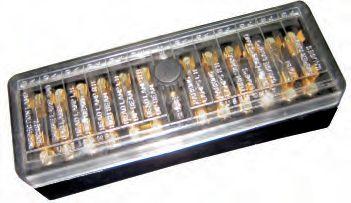 Peco 0176 Acrylic 407 Fuse Box