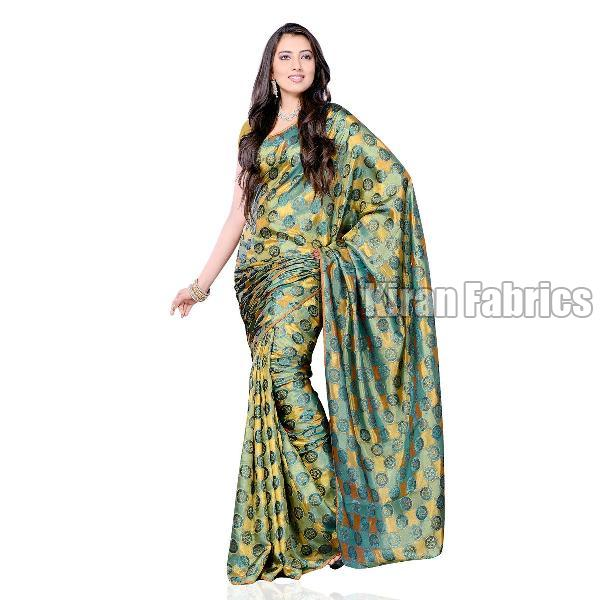 Satin Silk Saree 01