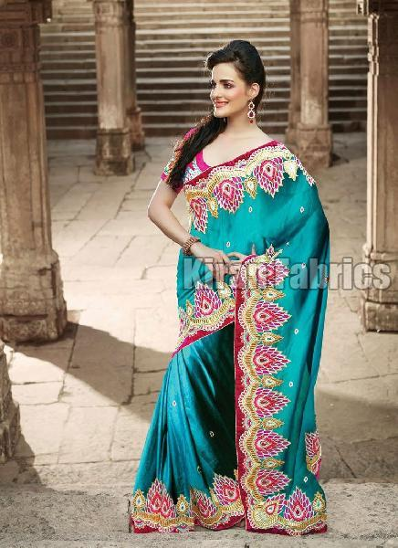 Satin Silk Saree 03