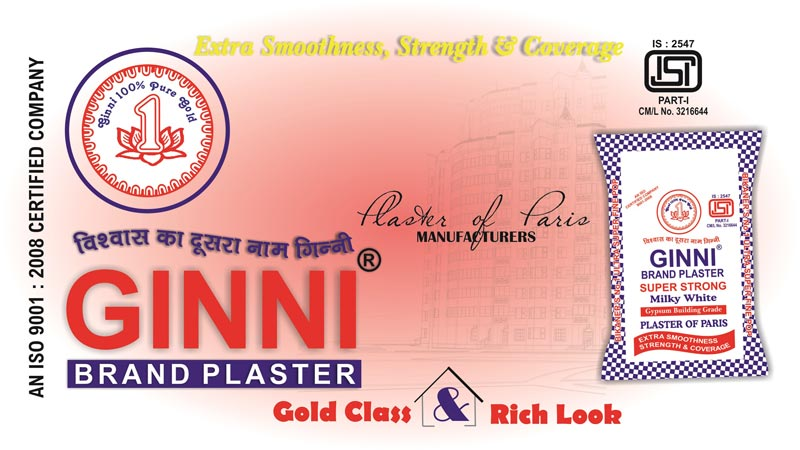Ginni Plaster Of Paris
