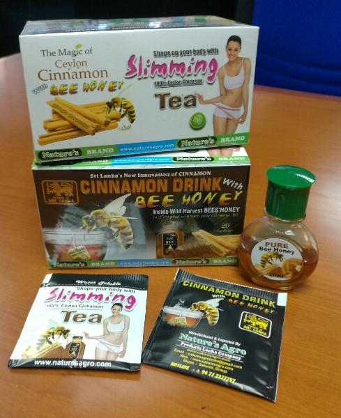 Slimming Tea with Bee Honey 01