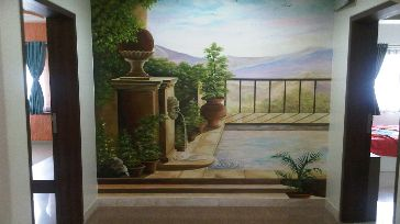 3d Wall Painting Services Pune 3d Wall Painting For Bedroom