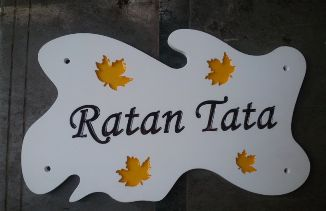 Corian Name Plate Designing 02