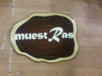 Wooden Name Plate Designing 02